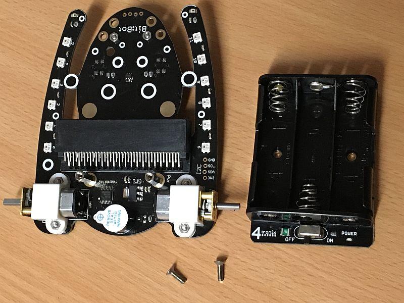 Bit:Bot Robot for BBC Micro:Bit – 4tronix