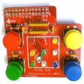 Assembled PiDie GPIO Experiments Board for Raspberry Pi Dice & Simon Games