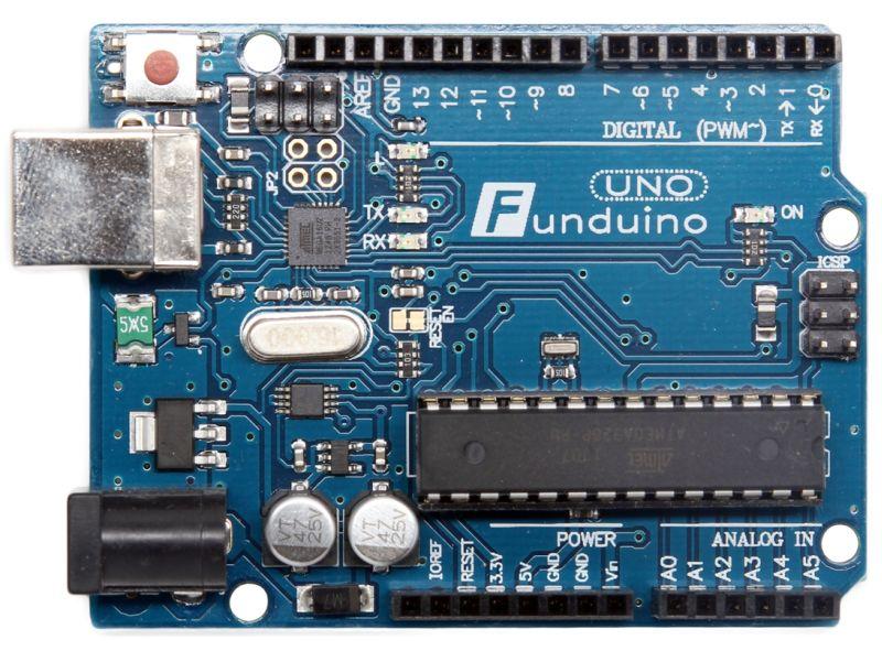 Funduino Uno Rev 3 & Free USB Cable